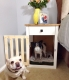 Going To The Dogs Diy Dog Crate Nightstands Diy Painted Furniture Pets